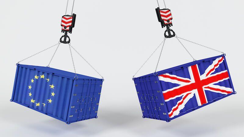 contenedores UE e Inglaterra