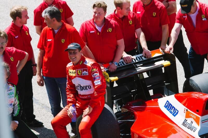 equipo Ferrari formula uno