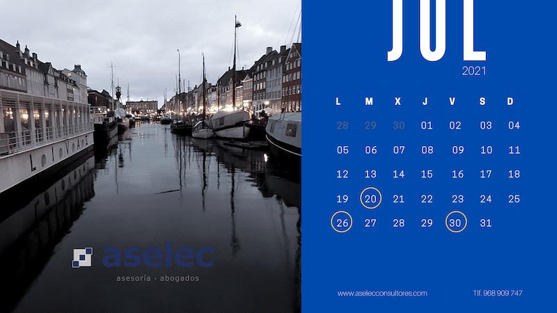 Calendario Fiscal Julio 2021 Aselec copia-2